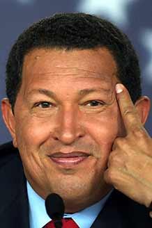 Hugo Chavez es un Imbecil y lo reitera!