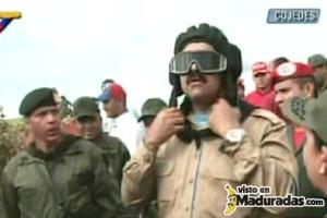 Venezuela NIcolas Maduro vestido de militar