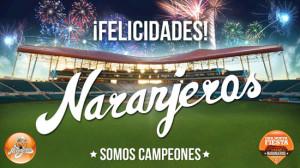 Naranjeros de Hermosillo Campeones