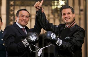 Juan Manuel Marquez y EPN