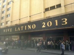Vive Latino 2013 Lineup - Bandas confirmadas