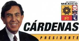 Renuncia Cuauhtémoc Cárdenas al PRD